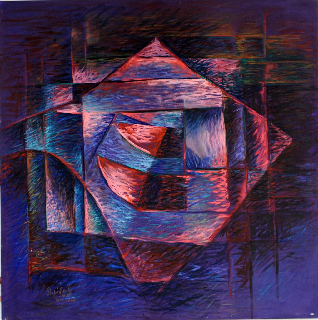 Aventador Abstract Fine Art