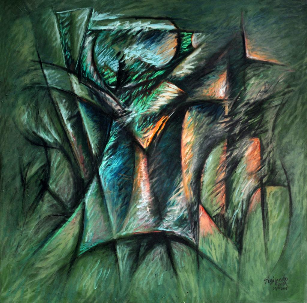 Convulsión Fine Art Abstract Art