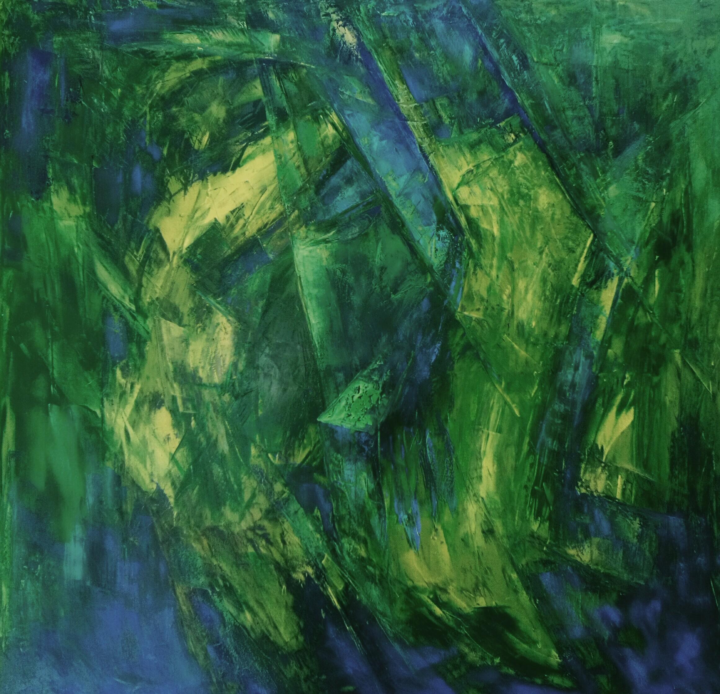 Original Abstract Wall Art by Sigifredo