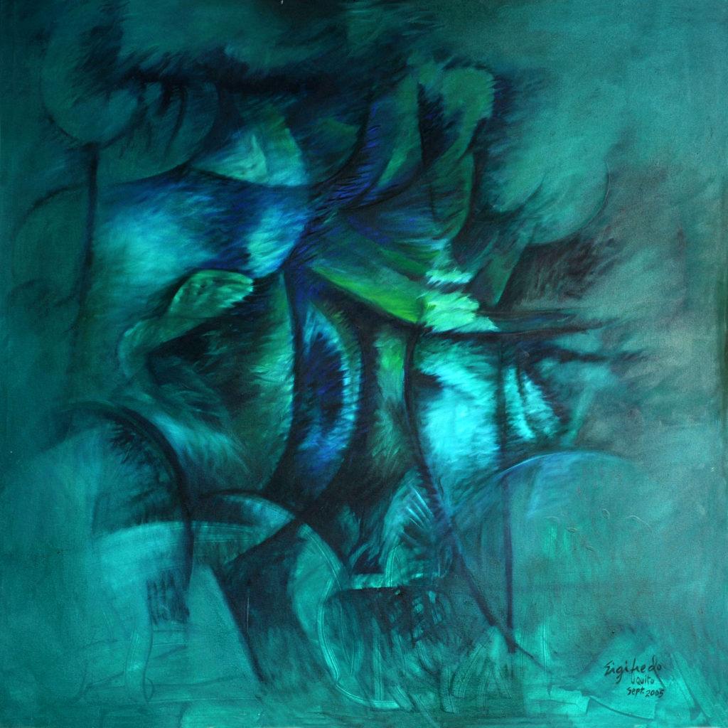 Exuberance Fine Art Abstract Art