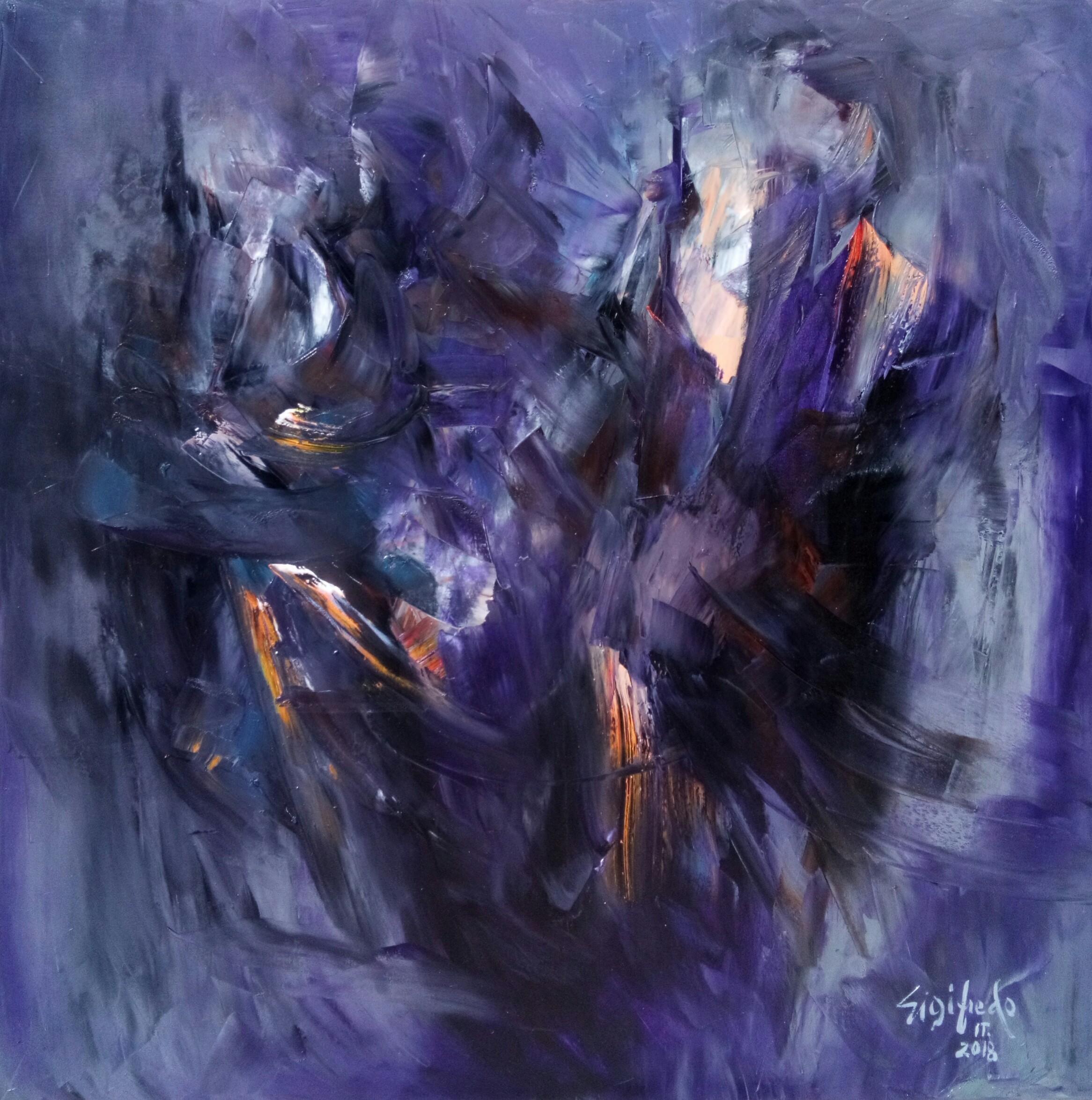 Nightmare - Original Abstract Wall Art by Sigifredo